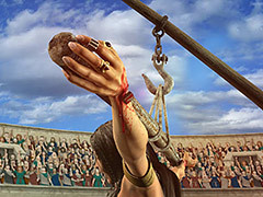 Queen Zenobia - The execution